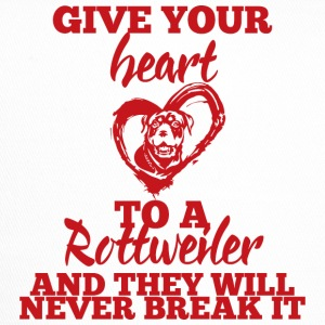 Hund / Rottweiler: Give Your Heart To A Rottweiler - Trucker Cap