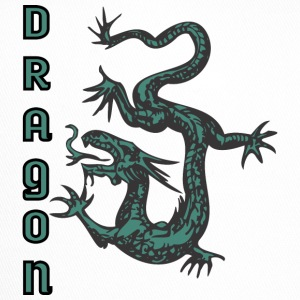 Couleur de dragon descendant - Trucker Cap