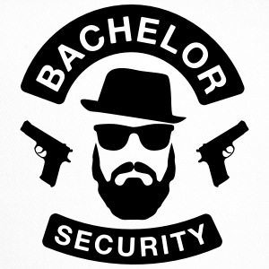 Bachelor Security - JGA T-Shirt - Bräutigam Shirt - Trucker Cap
