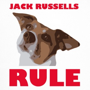 Jack russels rule2 red - Trucker Cap