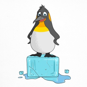 Penguin on ICE / Pinguin auf einem Eisblock - Trucker Cap