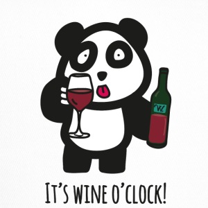 Drinking Panda - It's wine o'clock - Trucker Cap