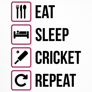 Eat Sleep Cricket Repeat - Trucker Cap