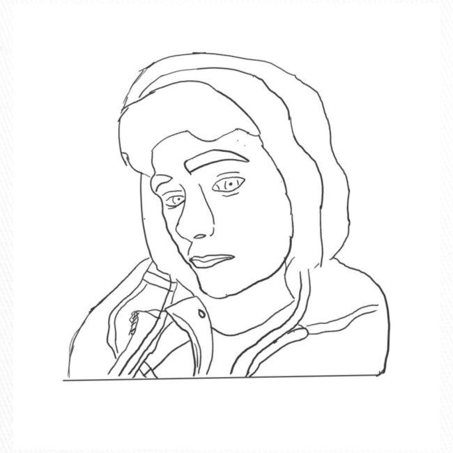 Jonny C cartoon drawing