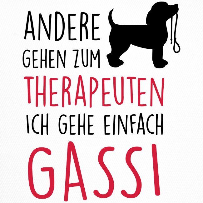 Vorschau: Gassi Therapeut Hund - Trucker Cap