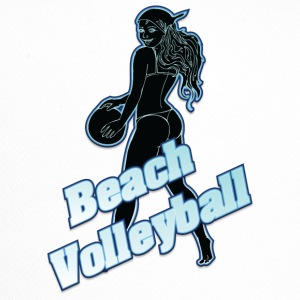 beach-volley noir - Trucker Cap