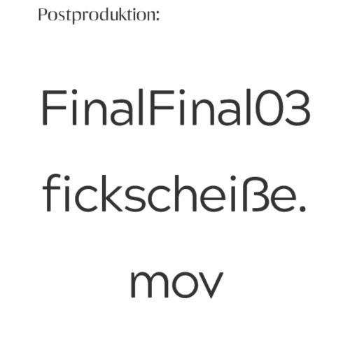 FinalFinal03fickscheiße.mov - Trucker Cap