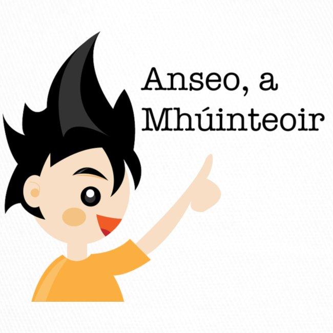 anseo, a mhúinteoir