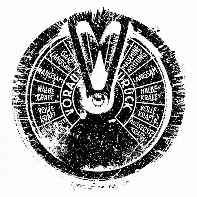 Maschinentelegraph (black oldstyle)