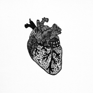 Heart, anatomy, Zentangle - Trucker Cap