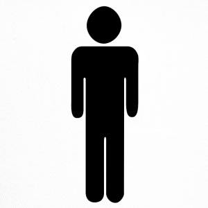Man - toilet - pictogram - Toilet sign - Trucker Cap