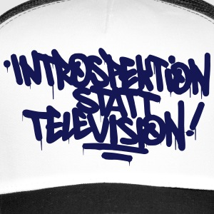 Introspection place Télévision - Trucker Cap