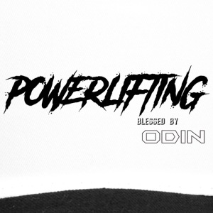BLESSED BY ODIN powerlifting - Trucker Cap