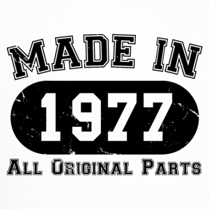 Made in 1977 All Original Parts 40th Birthday - Trucker Cap