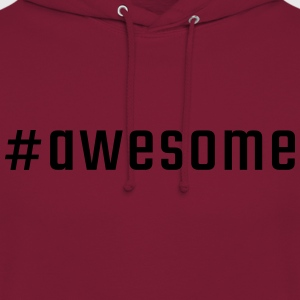 #awesome - Luvtröja unisex