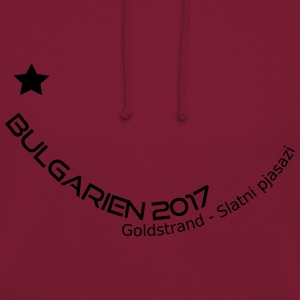Bulgarien Golden beach - Luvtröja unisex