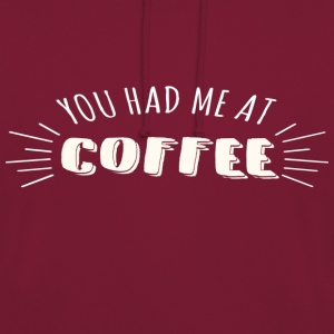 I love COFFEE - Sweat-shirt à capuche unisexe