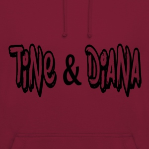 Tine and Diana - Unisex Hoodie