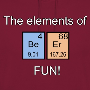 The elements of Fun! - Felpa con cappuccio unisex