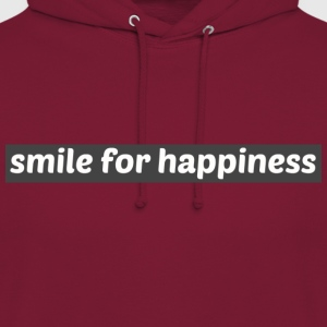 Smile for happiness - Unisex Hoodie