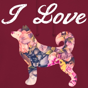I Love Dogs Rose - Unisex Hoodie