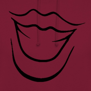 Laughing mouth - Unisex Hoodie
