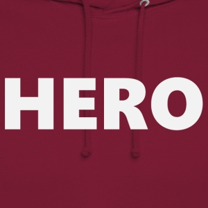 Hero (2201) - Sweat-shirt à capuche unisexe