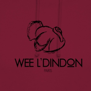 DINDON - Sweat-shirt à capuche unisexe