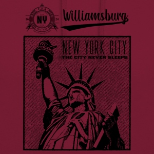 New York · Williamsburg - Unisex-hettegenser