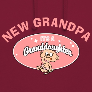 New Grandpa Personalize with Date or Name - Unisex Hoodie