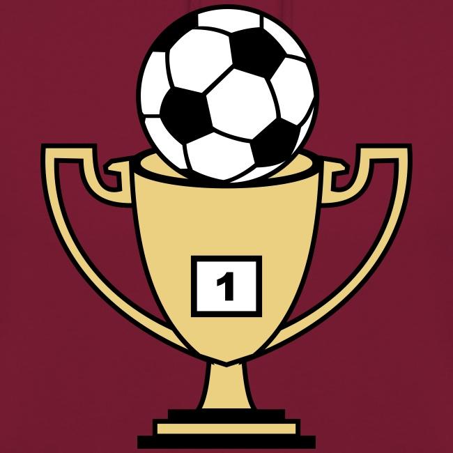 Pokal mit Fussball