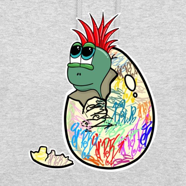 Punk Graffiti Bebe Schildkröte / Baby Dino Turtle