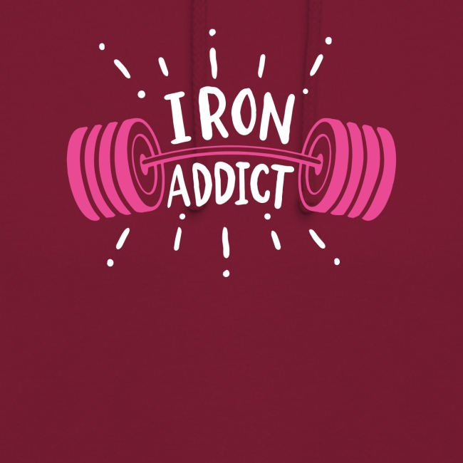 VSK Lustiges GYM Shirt Iron Addict
