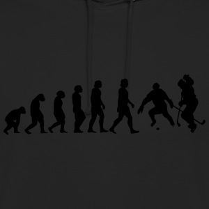 l'évolution du hockey - Sweat-shirt à capuche unisexe