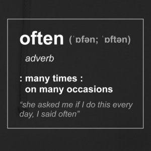 define Often - Unisex Hoodie