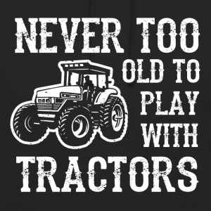 Man's toy tractor - Unisex Hoodie