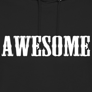 Awesome logo - Unisex Hoodie