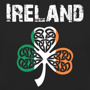 Nation-Design Irlandia 02 - Bluza z kapturem typu unisex