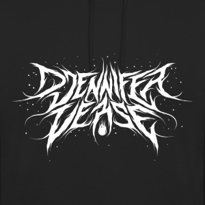 Djennifer Fresh Metal Design - Unisex-hettegenser