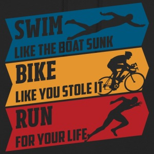 Swim - Bike - Run - Unisex Hoodie