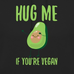 HUG ME - If you´re vegan - Unisex Hoodie