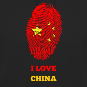 I LOVE CHINA - Unisex-hettegenser