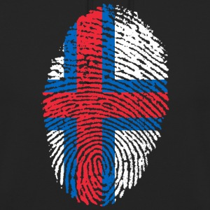 FÄRER ISLANDS FINGERPRINT T-SHIRT - Unisex Hoodie