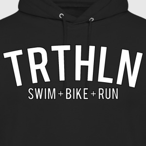 Triathlon - White Edition - Unisex Hoodie