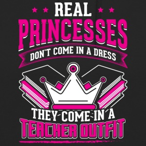 REAL professeur de PRINCESSES - Sweat-shirt à capuche unisexe