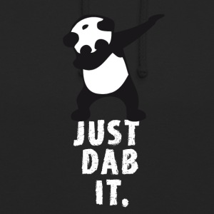 dab just dab it panda dabbing touchdown superbowl - Unisex Hoodie