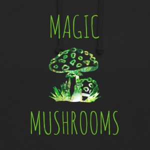 Magiska svampar Magic Mushrooms Toadstool - Luvtröja unisex