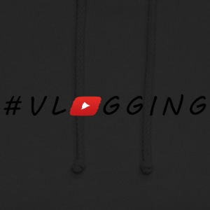 YouTube #Vlogging - Bluza z kapturem typu unisex