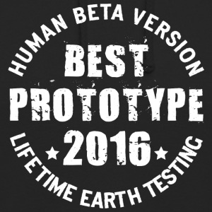 2016 - The birth year of legendary prototypes - Unisex Hoodie