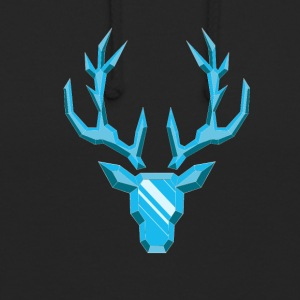 Precious Stone: Diamond Deer - Sweat-shirt à capuche unisexe